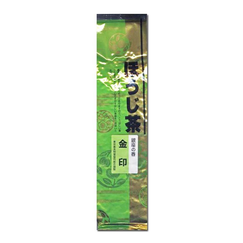 ほうじ茶 銀座の香「金印」100g 静岡県産