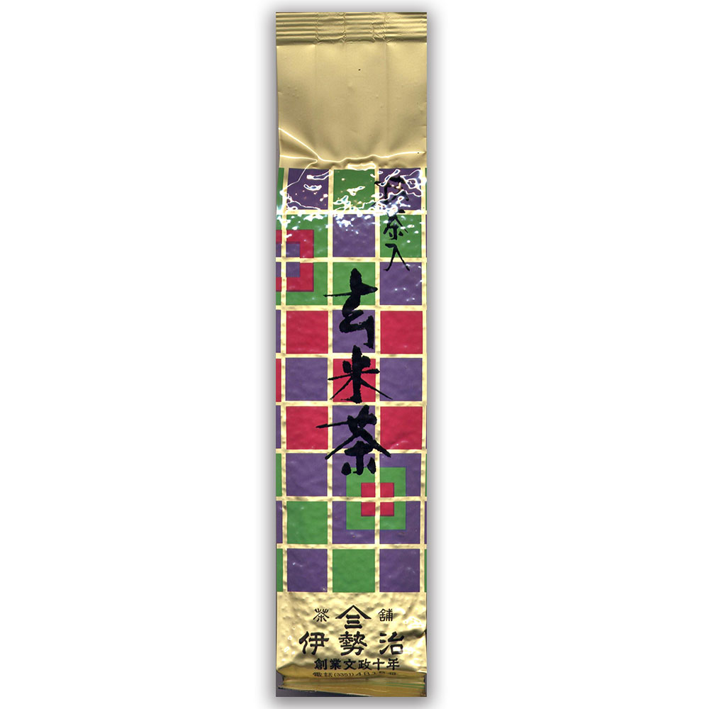 抹茶入り玄米茶 200g 静岡県産
